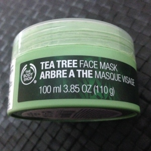 Tea Tree Face Mask - Packaging