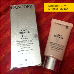lancome cc cream review