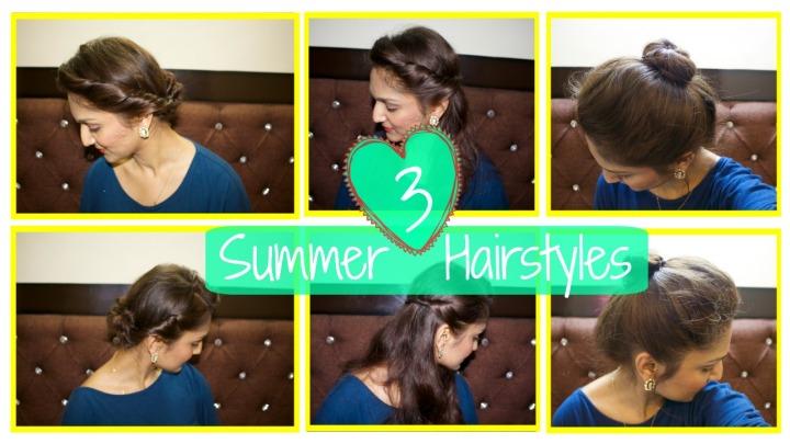 3 Summer hairstyles