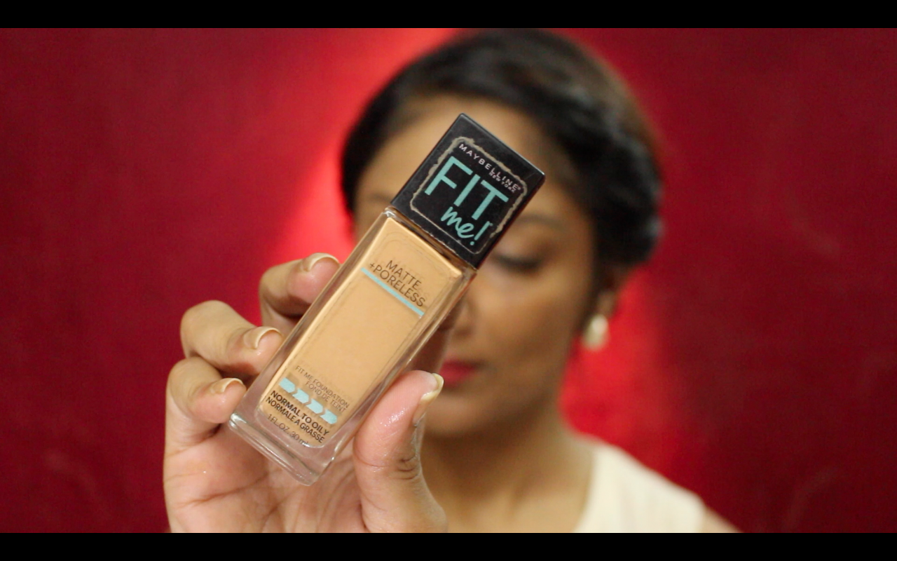 Fit Me Foundation warm honey 322