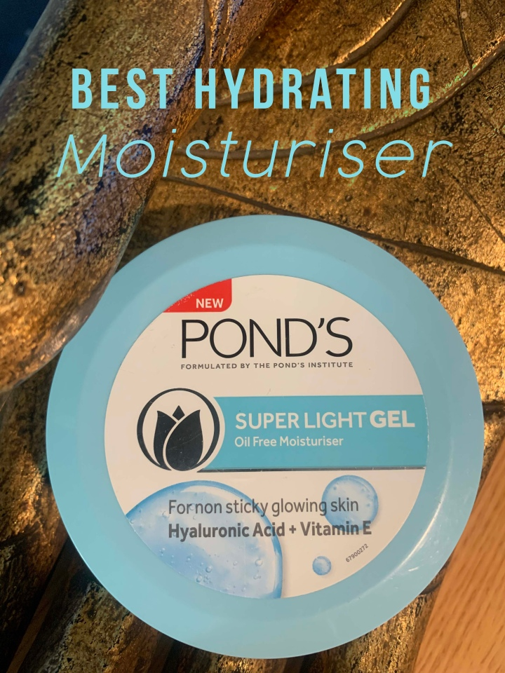 Must-have moisturiser for you! Pond's Super Light Gel Moisturiser