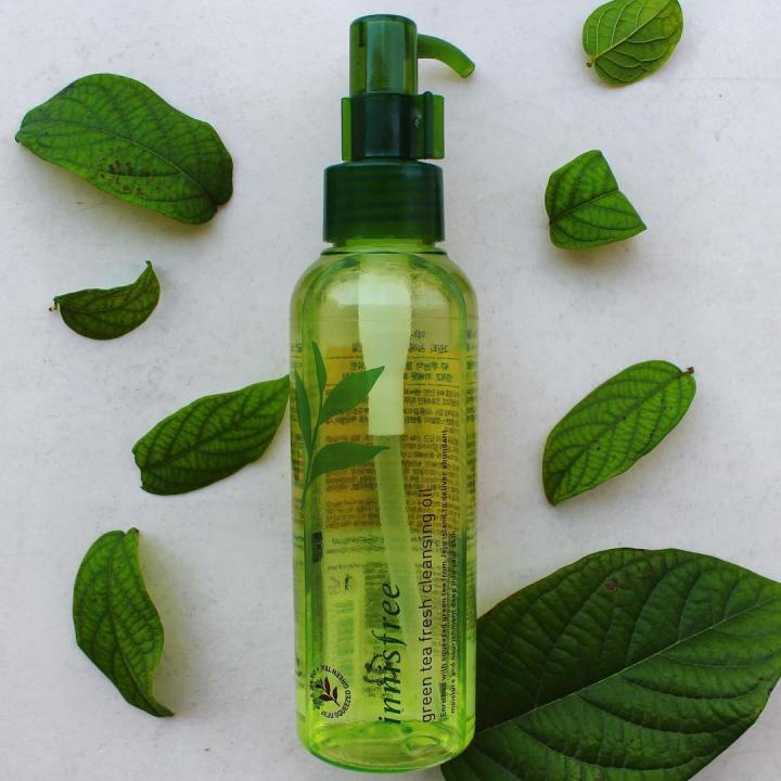 Innisfree Green Tea Cleansing Oil Review & Demo